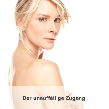 Brustvergrößerung - Der unauffällige Zugang